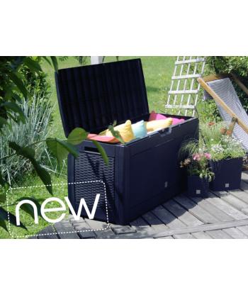 Skrzynia ogrodowa pudełko ogrodowe BOXE Brick - umbra