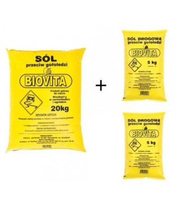 Sól drogowa przeciw gołoledzi 30kg
