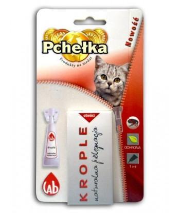 Krople dla kota na pchły naturalne BIO 1ml LAB