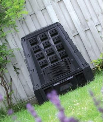 Kompostownik evogreen czarny 400l Prosperplast