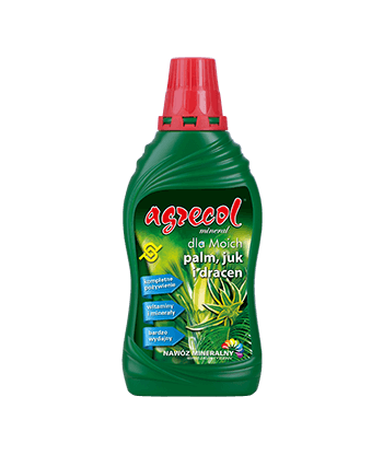 Nawóz do palm, juk i dracen 290ml Agrecol