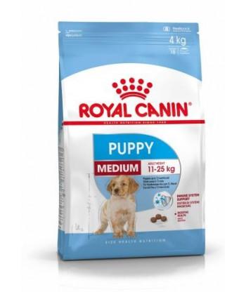 ROYAL CANIN Medium Puppy 4kg dla szczeniąt ras śrdnich