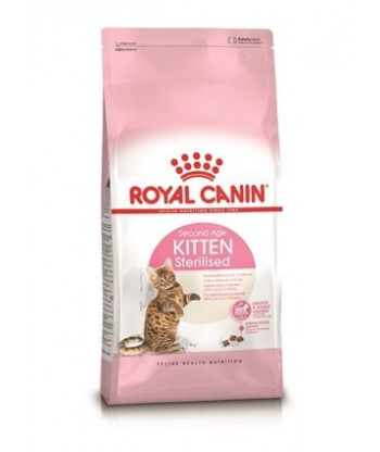 Karma dla kociąt Kitten Sterilised Feline 400g Royal Canin