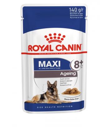 Maxi Ageing karma mokra w saszetkach Rasy Duże 8+ Royal Canin