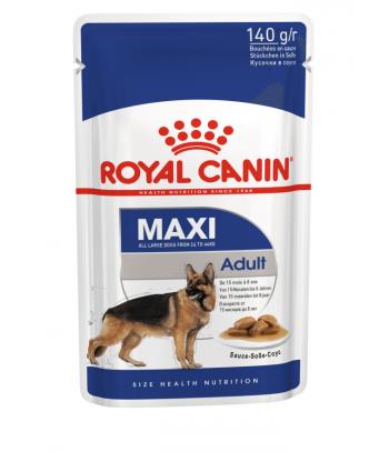 Maxi Adult karma mokra w saszetkach 140g Rasy duże Royal Canin
