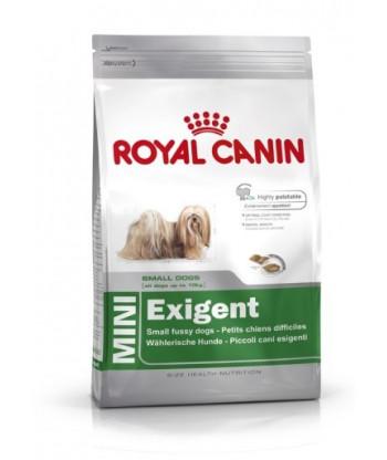 Karma dla wybrednych psów ras małych Mini Exigent 4kg Royal Canin