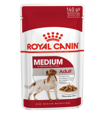 Medium Adult karma mokra w saszetkach 140g Royal Canin