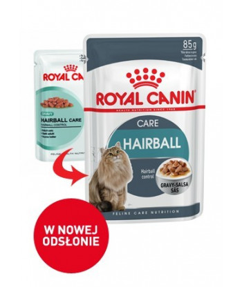 Mokra karma Hairball care saszetka 85g Royal