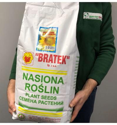 Zimowy pokarm dla ptaków - słonecznik paszowy dla sikorek 8kg BRATEK