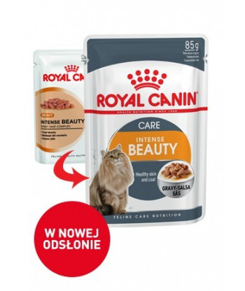 Mokra karma Intense Beauty saszetka 85g Royal Canin