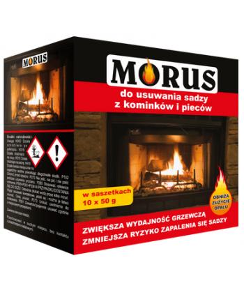MORUS Proszek do usuwania sadzy z kominków i pieców 50g 1szt.