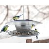 Karmnik dla ptaków BIRDYFEED ROUND szary kamienny