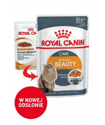 Mokra karma Intense Beauty Jelly saszetka 85g Royal Canin