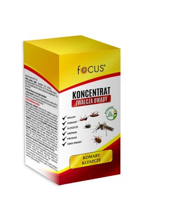 Focus koncentrat zwalcza komary i kleszcze 100ml