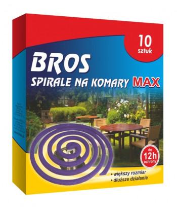 Spirale na komary MAX 10szt BROS