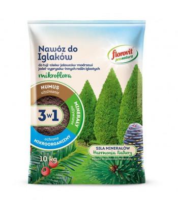 Florovit Mikroflora 3w1 nawóz do iglaków 10kg