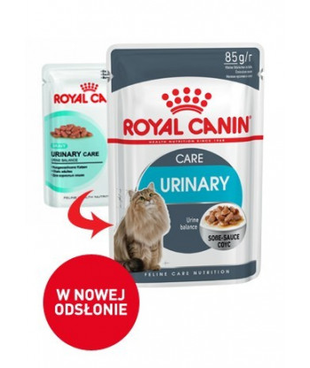 Saszetka Urinary Care w sosie 85g ROYAL CANIN