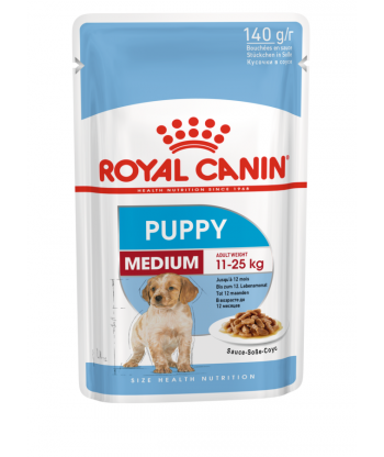 Medium Puppy karma mokra saszetka 140g Royal Canin