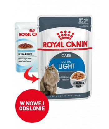 Saszetka Ultra Light Jelly 85g ROYAL CANIN