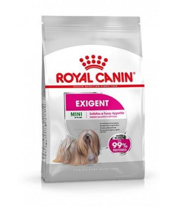 Karma dla wybrednych psów ras małych Mini Exigent 1kg Royal Canin