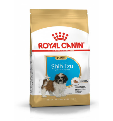 Wyprawka karma dla psów Shih Tzu Junior Royal Canin