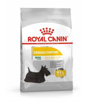 Mini Dermacomfort 1 kg - skóra skłonna do podrażnień Royal Canin