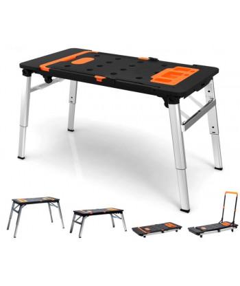 Uniwersalny wielofunkcyjny stół warsztatowy 7 w 1