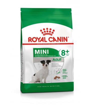 Karma dla psów ras małych Mini Adult 8+ 2kg Royal Canin