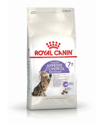 Sterilised Appetite Control 7+ 0,4kg Royal Canin