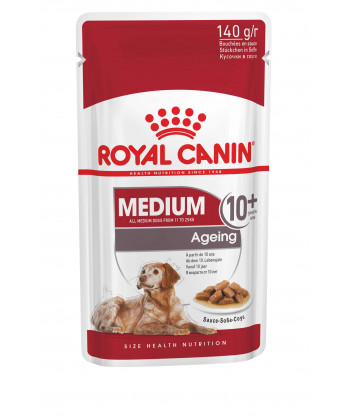 Karma morka saszetka Medium Ageing 10+ 140g Royal Canin