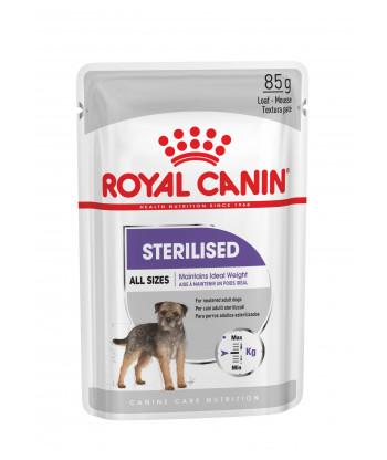 Saszetka karma mokra dla psów Sterilised Loaf 85g Royal Canin