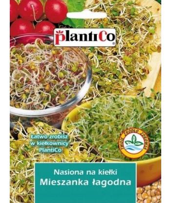 Nasiona na kiełki - Mieszanka łagodna 25g PlantiCo