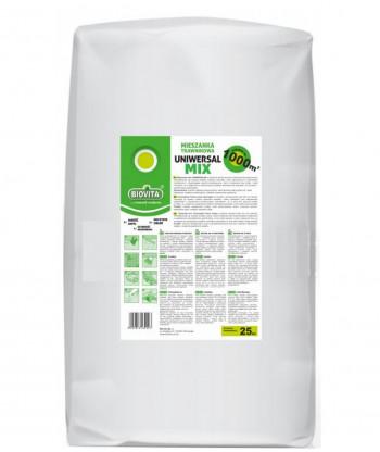 Mieszanka Trawnikowa Uniwersalmix 25kg Biovita