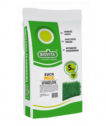 Mieszanka Trawnikowa Suchmix 5kg Biovita