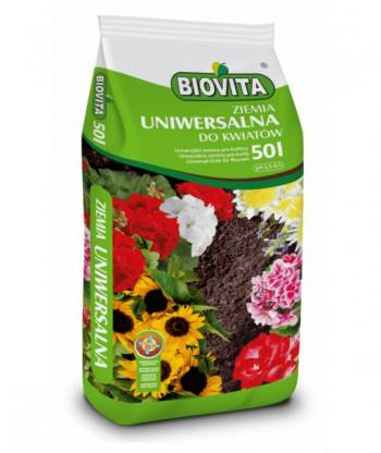 Ziemia uniwersalna do kwiatów BIOVITA 50L