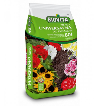 Ziemia uniwersalna do kwiatów BIOVITA 80L