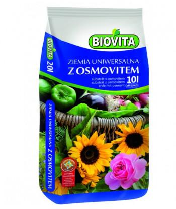 Ziemia uniwersalna do kwiatów z osmovitem BIOVITA 10L