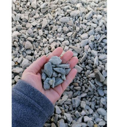 Kora kamienna srebrna 10-30 mm Big Bag 1000 kg TONA