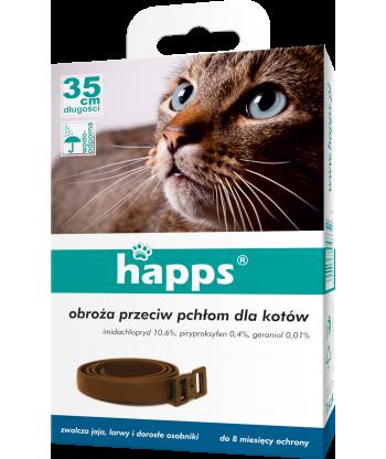 Obroża przeciw pchłom i kleszczom dla kotów BROS
