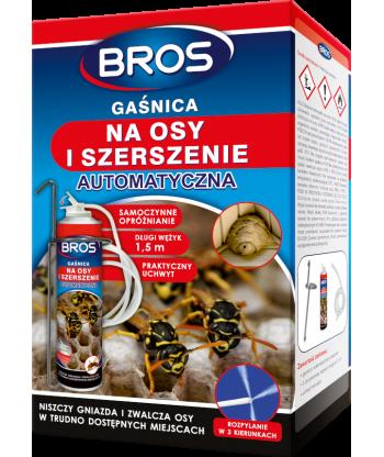 Automatyczna gaśnica na osy i szerszenie 400ml BROS