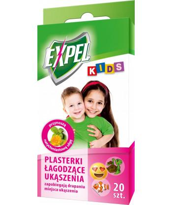 Kids - plasterki łagodzące ukąszenia EXPEL