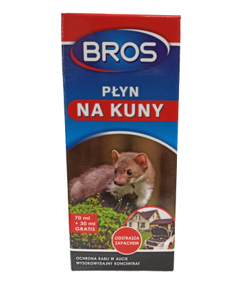 Płyn na kuny i inne zwierzęta 100 ml BROS