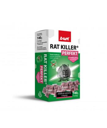 Rat Killer Perfekt granulat saszetki 140g BEST