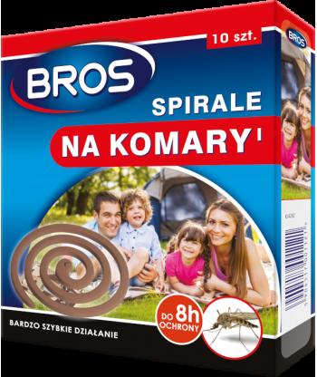 Spirale na komary 10szt BROS
