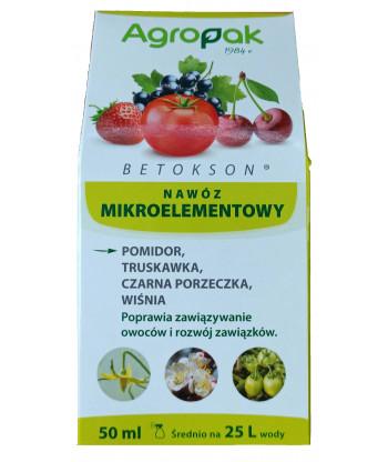 Betokson aktywator zawiązywania owoców 50 ml AGROPAK