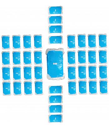 Siatka do pakowania choinek biała 45x300m 40szt.