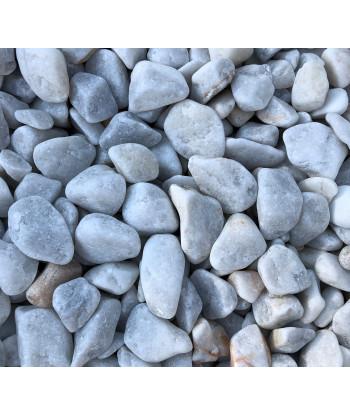 BIG BAG Kamień dekoracyjny - otoczak  White Sky 10-30 mm 1000kg TONA