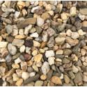 Kamień dekoracyjny - otoczak  żwir miodowy 8-16 mm BIOVITA 20kg