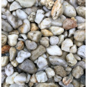 Kamień dekoracyjny - otoczak żwir perłowy BIOVITA 16-32mm 20kg