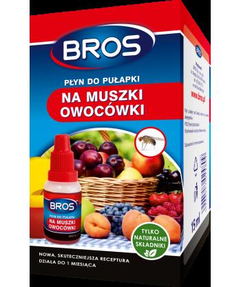 Płyn do pułapki na muszki owocówki 15 ml BROS